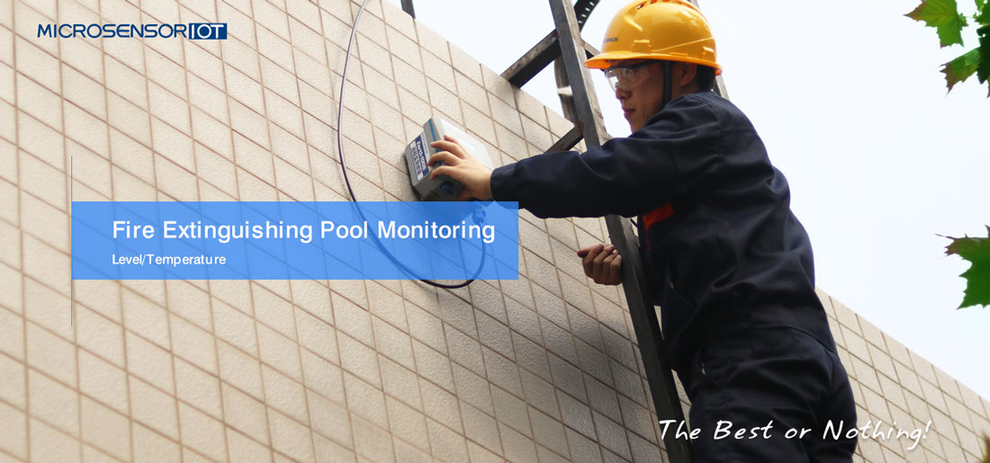 Fire pool monitoring